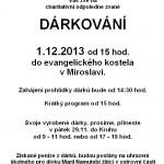 Dárkování 2013 plakát